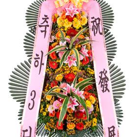축하3단화환 v1028