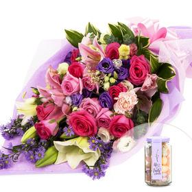 꽃다발+사탕 124