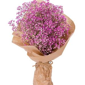 핑크안개꽃다발 p915