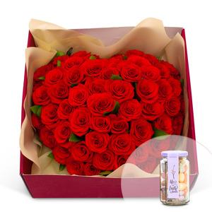 꽃상자+사탕 118