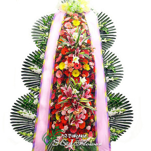 축하3단화환 v1074